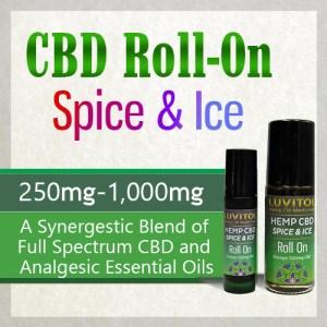 Luvitol CBD Roll-On
