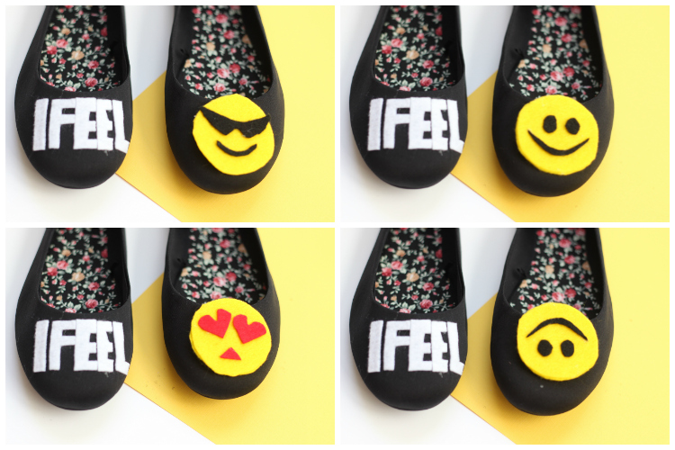 DIY EMOJI SHOES