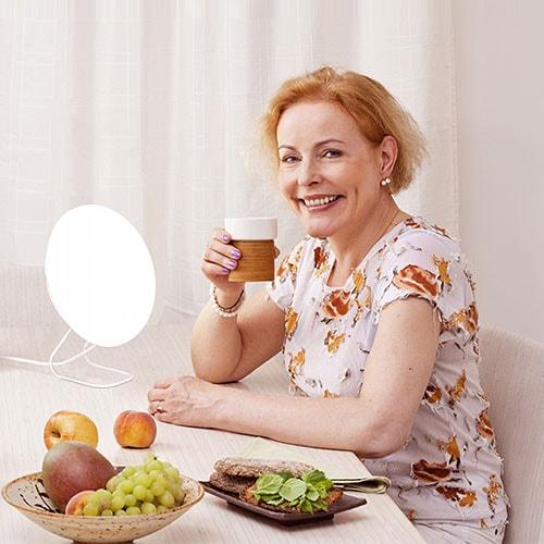 Lampe de luminothérapie Innolux Rondo LED