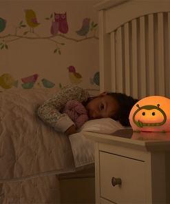 réveil simulateur de crepuscule Lumie Bedbug