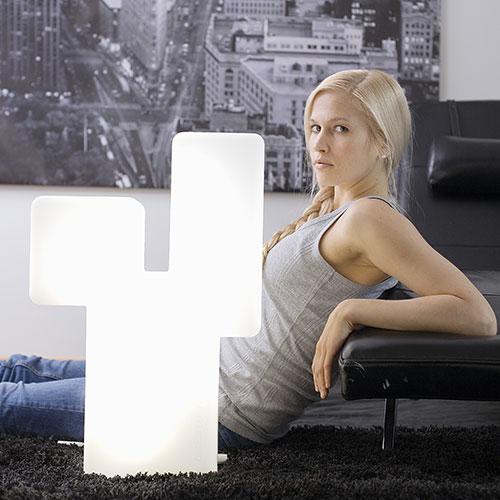 Lampe de luminothérapie Innolux Kubo allumée