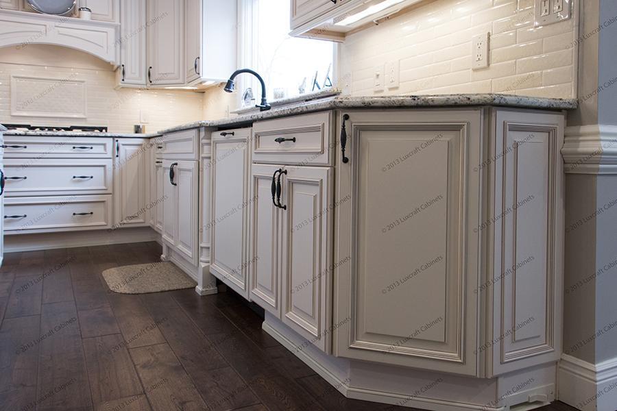 Wellington Ivory Glaze Luxcraft Cabinets