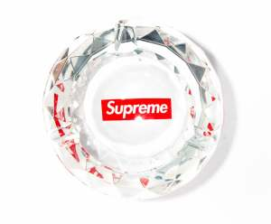 GLASS, PLASTIC & CERAMIC SUPREME ASHTRAYS [7 PIECES]