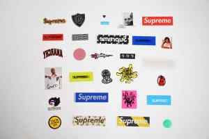 SUPREME STICKERS [29 PIECES] 1