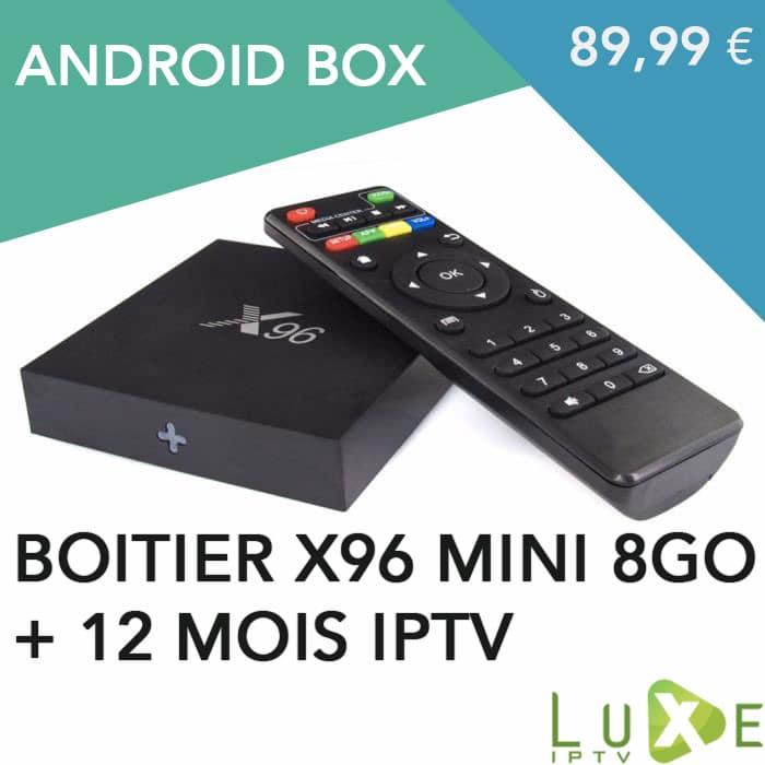 boitier android x96 mini