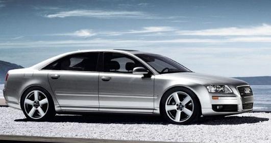 Amancio Ortaga possède une Audi A8 d'une valeur de 120 000€
