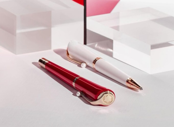 Muses Marilyn Monroe Special Edition Fountain Pen. Courtesy: Montblanc