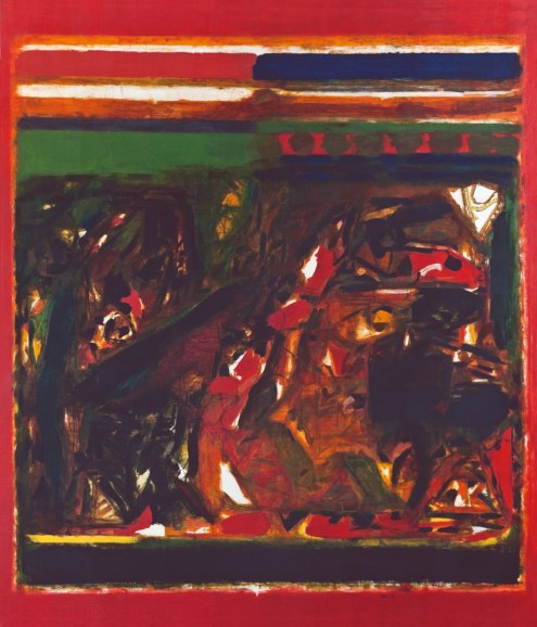 S.H. Raza, Climat, Acrylic on Canvas, 1974, Image courtesy of The Arts Trust