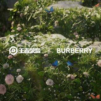 Burberry and Tencent Collaboration