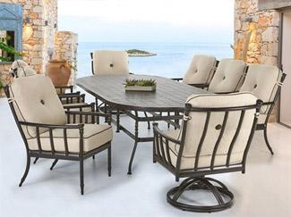 luxury outdoor furniture shop