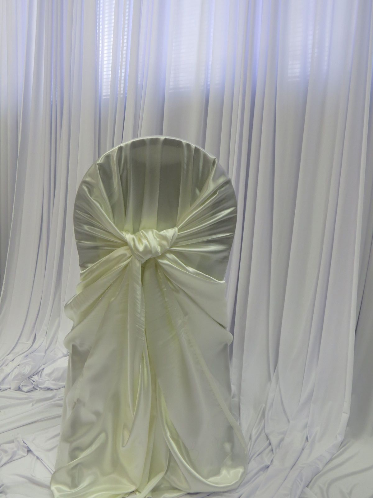 ivory satin chair covers steel png gallery luxe event linen