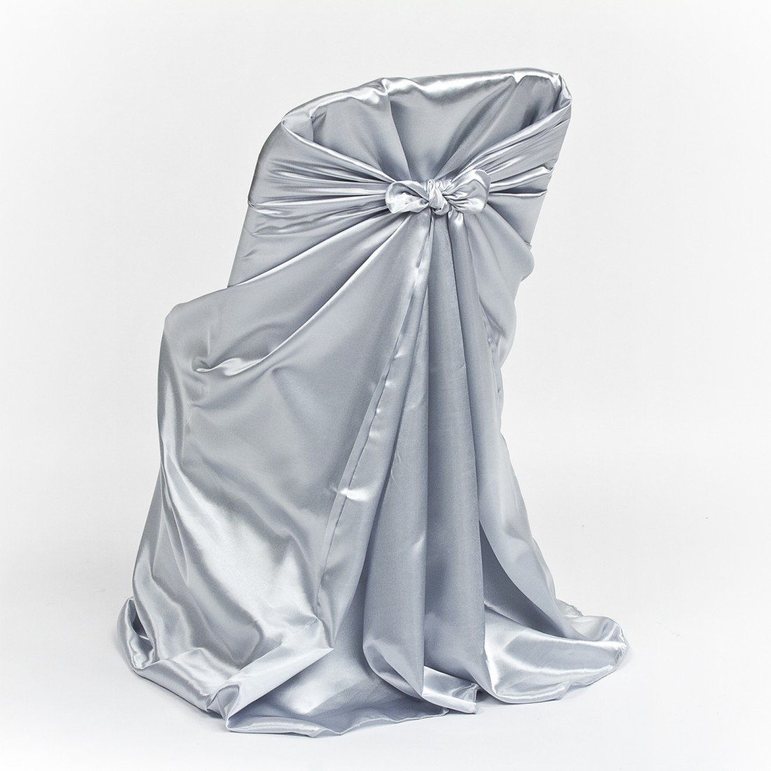 chair covers universal lift chairs grey satin folding cover luxe event rental