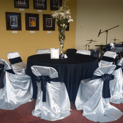 Chair Covers Cheap Rental How To Make A Wooden Rocking Grey Satin Folding Cover Luxe Event