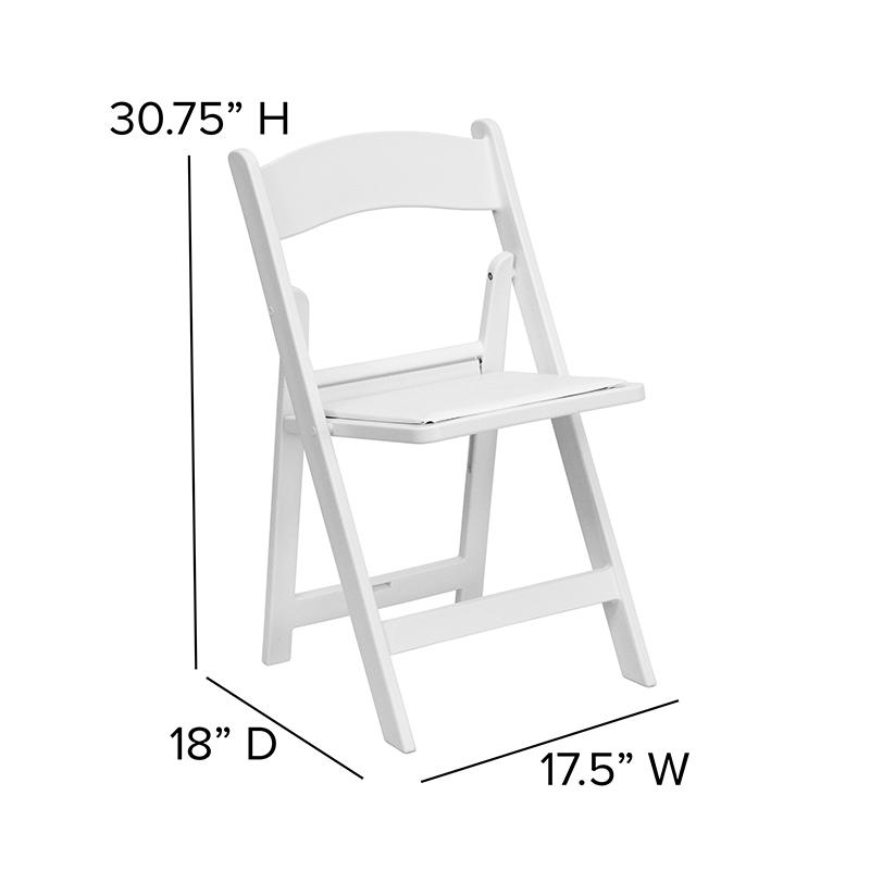 Super White Resin Folding Chair Creativecarmelina Interior Chair Design Creativecarmelinacom