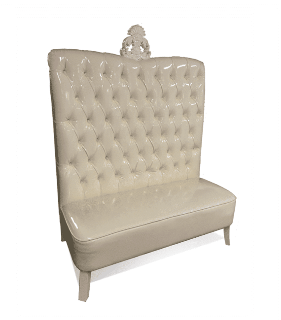 Admirable Ivory Luxe Line High Back Sofa Gmtry Best Dining Table And Chair Ideas Images Gmtryco