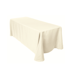 Table And Chair Rentals In Delaware Black Velvet Covers 8 Ft Ivory White Tablecloth - Luxe Event Rental