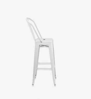 White barstool bar stool rentals Party Rentals