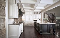 High-end Gourmet Kitchen Design - Luxe Homes Design Build ...