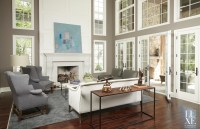Living Room for English Manor Residence
