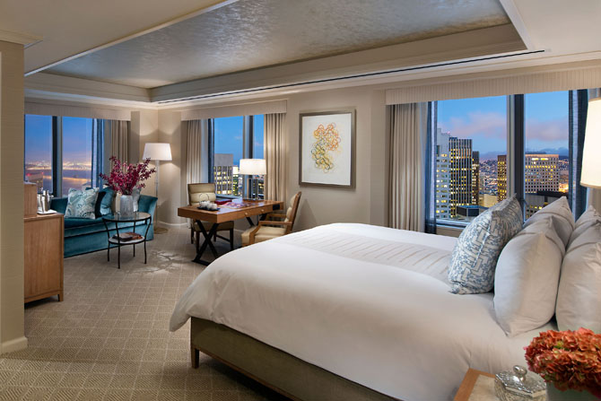 8 Gorgeous Hotels in San Francisco Mandarin Oriental San Francisco
