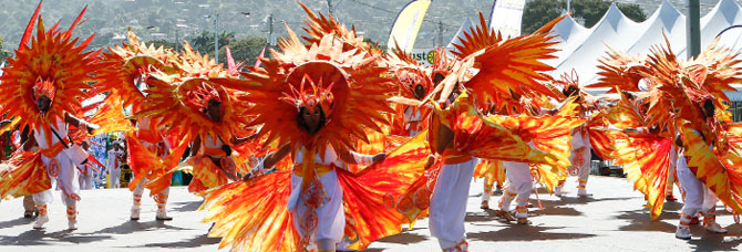 Enjoy the Colors of the Trinidad and Tobago Carnival 5