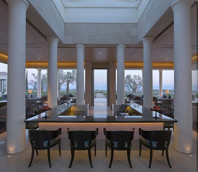 Five of the Best Luxury Resorts in Greece Amanzoe 3
