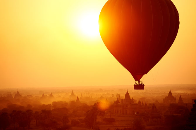 Glorious Hot Air Balloon Rides to Take Just Once 5