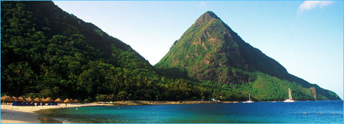Top 10 Caribbean Islands to Visit by Superyacht Saint Lucia