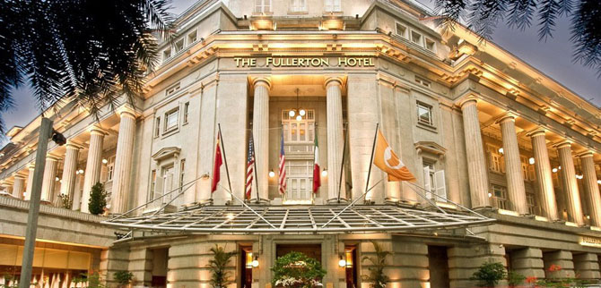 Top 5 Luxury Hotels in Singapore The Fullerton Hotel 1