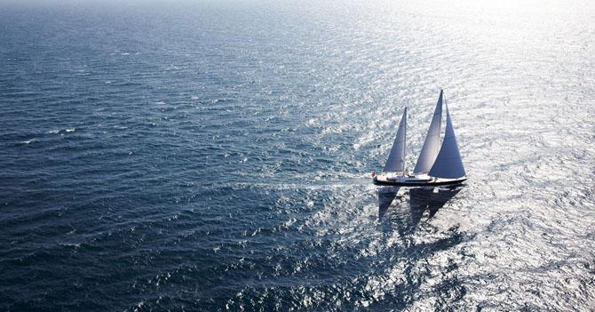 Top 7 Sailing Superyachts to Charter This Winter Panthalassa 1