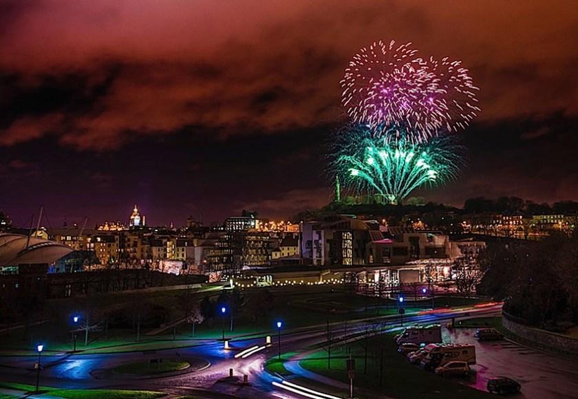 Edinburgh Home of Hogmanay 1