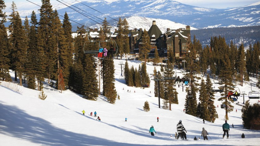 Hottest Ski Destinations in the US Ritz Carlton Lake Tahoe