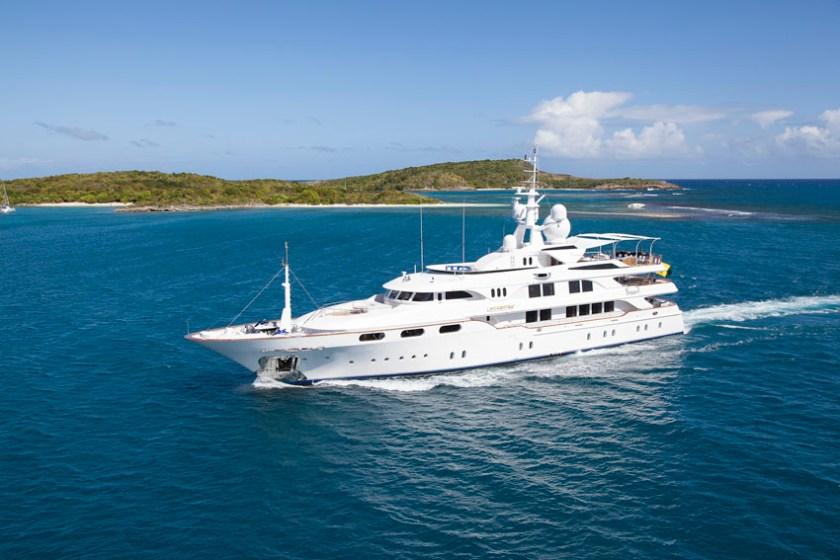 Hottest Summer Destinations for a Superyacht 1