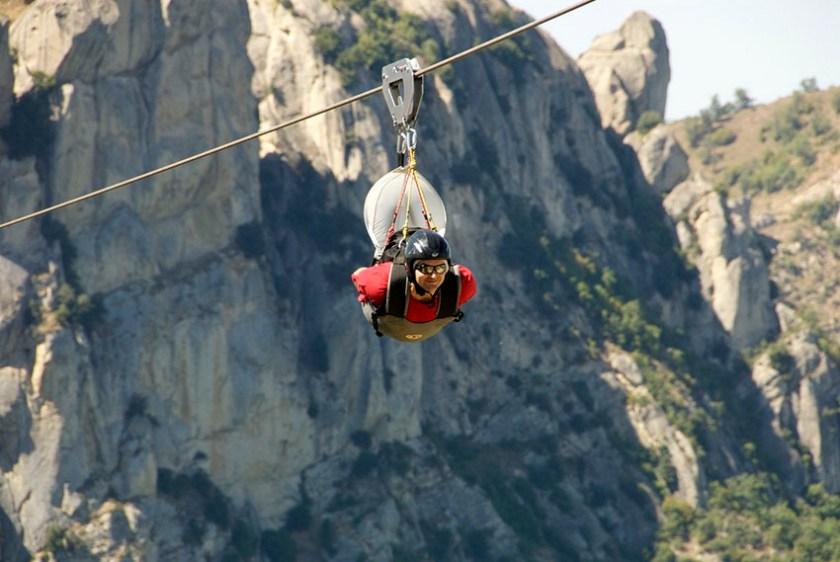 Angel Flight and Culinary Fancies at Castelmezzano Dolomites Italy 3