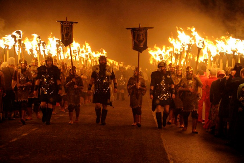 Scottish Festival Up Helly Aa