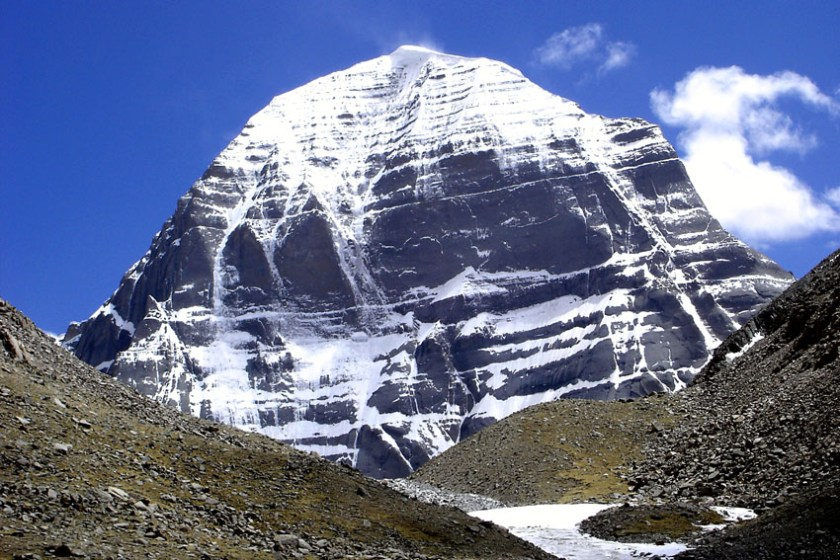 Holy Mount Kailash in Tibet 2