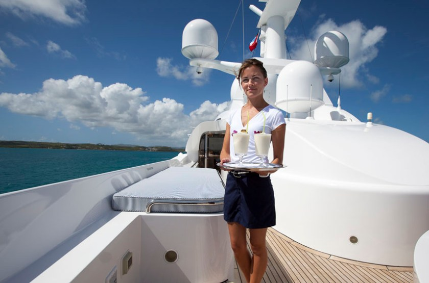 Crew on a Superyacht Charter 4