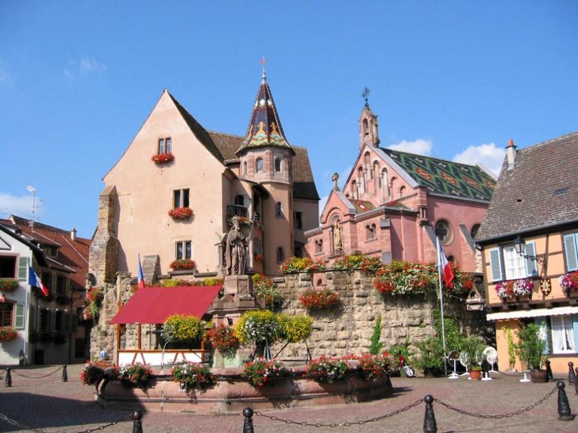 Eguisheim Alsace Wine Route Guide 1
