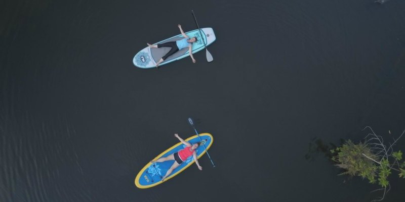 luxury yoga retreat - Tambo Ilusion - SUP Yoga