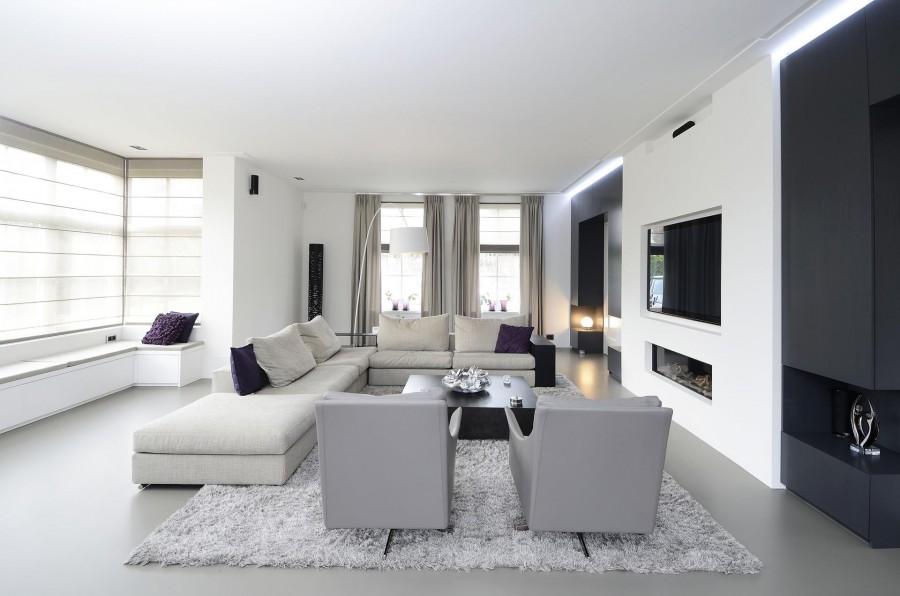 Inrichting luxe villa  de Leeuw  van Vugt