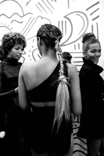 LAFW FW '17 Designer: Sav Noir Lead Hair: Luxelab Bel Air Stylist Timothy Ro Photo: Liz Abrams