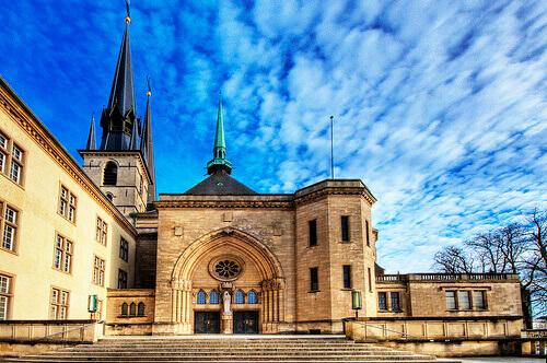 La Catedral de Notre Dame   Luxemburgo