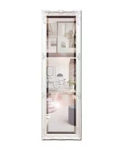 White Decorative Dressing Mirror