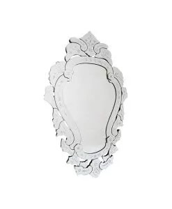 Venetian Scroll Wall Mirror 54 x 88 cm