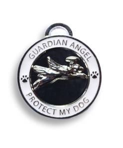 guardian dog pet charm