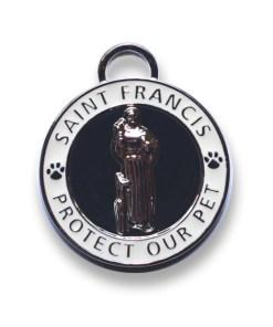 St. Francis Pet Id Tag