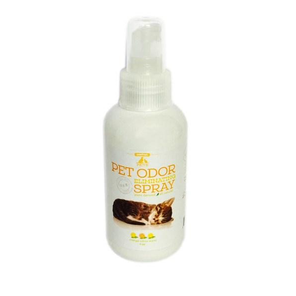 Pet Odor Eliminating Spray – Citrus Orange – For Cat Urine – litter box odors – 4oz