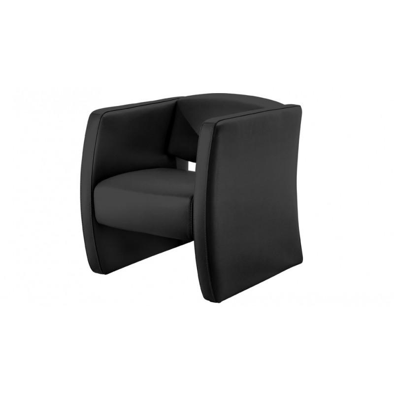 Audria fauteuil cuir design canap cuir Luxesofa