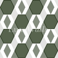 Geometric Wallpaper - Removable and Reusable Wallpaper ...