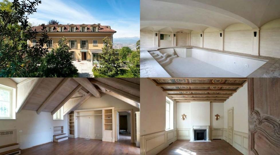 Cristiano Ronaldo dove vive a Torino Vuole la villa del capitano bianconero Alex Del Piero